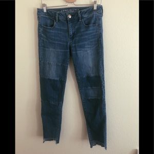 American eagle ankle jeans
